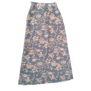 Vintage A Byer Floral Skirt